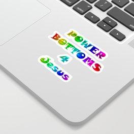 Power Bottoms 4 Jesus Sticker