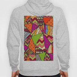 African Style No14, Tribal dance Hoody