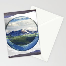 MOUNTAIN ECLIPSE Stationery Cards