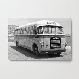 Oldtimer bus Metal Print