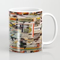 safari Mugs featuring Safari by Katy Hirschfeld