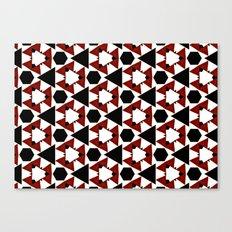 Van Steensel Pattern Canvas Print