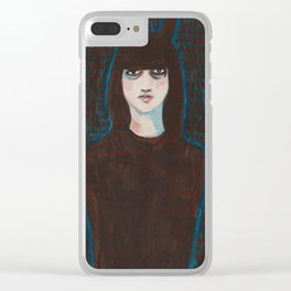 I Am Not Lost I Am Just In Camouflage Clear iPhone Case