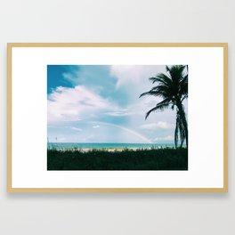 Siesta Key Beach Framed Art Print