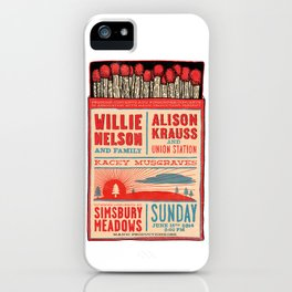 Willie Nelson And Family   iPhone Case