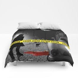 Crime scene do not enter Comforters