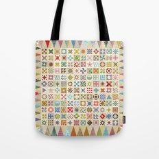 Jane's Addiction to Quilting Tote Bag