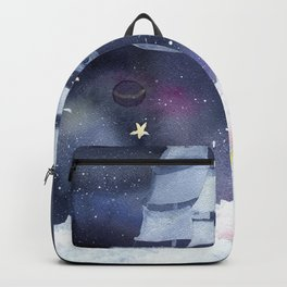 Sailboat in the Galaxy Backpack