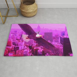 Eagle and Pink City Rug
