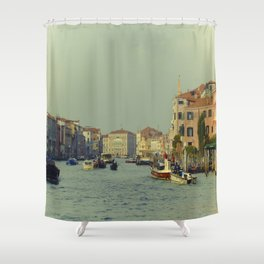 Venice, Grand Canal 1 Shower Curtain