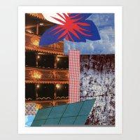 theatre Art Prints featuring THEATRE by Kelci Archibald