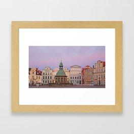 WismarAltstadt Framed Art Print