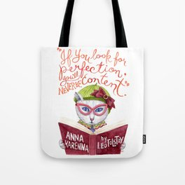 Looking for Purr-fection Tote Bag