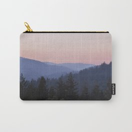Sunset in the Santa Cruz Mountains Carry-All Pouch