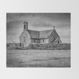 Creep church Throw Blanket