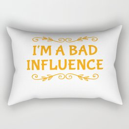 Stay Away From Me Rectangular Pillow