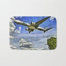 Airliner Vincent Van Gogh Bath Mat