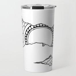 Ripped Mandala Travel Mug