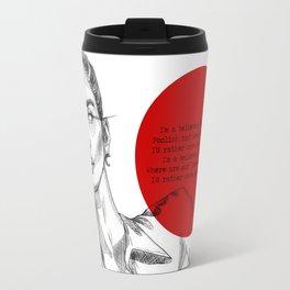 Angel Down Travel Mug