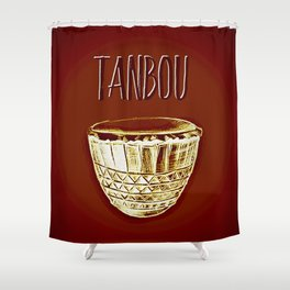 Tanbou Shower Curtain