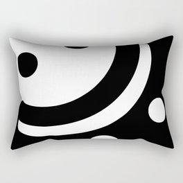 Smile or Sad Rectangular Pillow