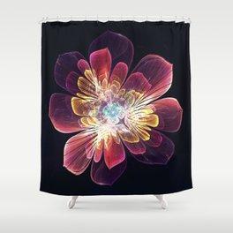 Tibet Sea Flower Shower Curtain