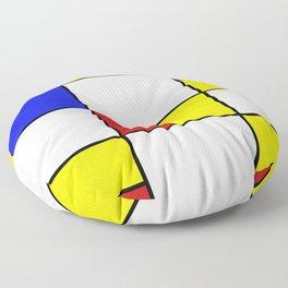 Mondrian #756 Floor Pillow
