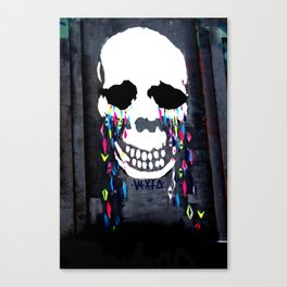 Crying Colors Canvas Print