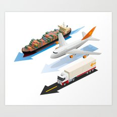 transportation Art Print