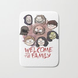 Welcome to the Family Bath Mat