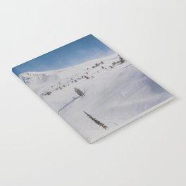 Snowy Mount Hood Notebook