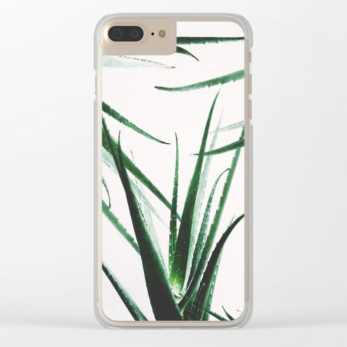 plant vibes Clear iPhone Case