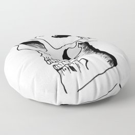 Possessed by the Mountains Floor Pillow