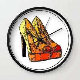 Shoe 3 Wall Clock