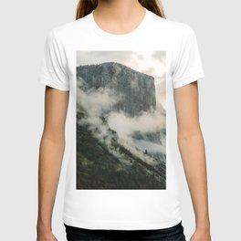 Yosemite fog T-shirt