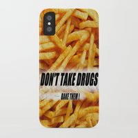 fries iPhone & iPod Cases featuring French Fries by Ispas Sorin