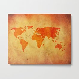 the world is at our fingertips Metal Print