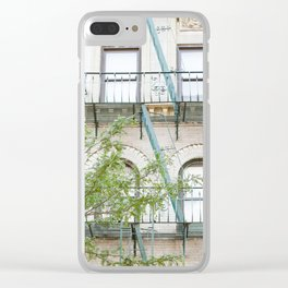 Oh So Soho, New York City Photograph Clear iPhone Case