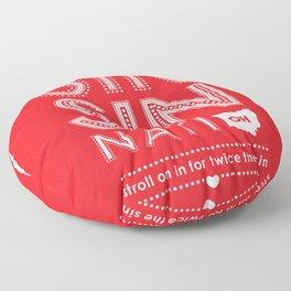 Locals Only — Sinsinnati, OH Floor Pillow