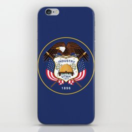 Utah State Flag iPhone Skin
