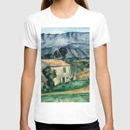 1886 - Paul Cezanne - House in Provence T-shirt