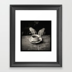 daBlack Framed Art Print