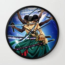 Zoro - one piece Wall Clock