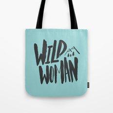 Wild Woman x Blue Tote Bag