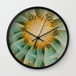 Fractal Fantasy Wall Clock