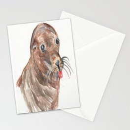Silly Sea Lion Stationery Cards