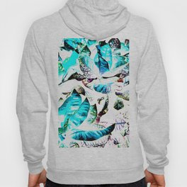 451 - Abstract leaves design Hoody