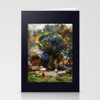 shadow of the colossus Stationery Cards featuring shadow of the witcher by ururuty
