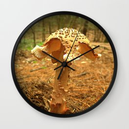 Mushroom S Wall Clock