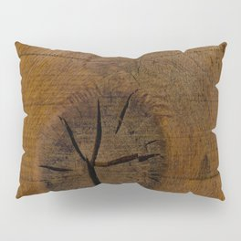 The Wood Knot Pillow Sham